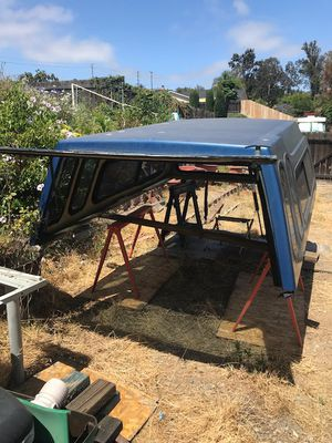 Camper shell fits older ford with 8 foot bed for Sale in Spring Valley, CA