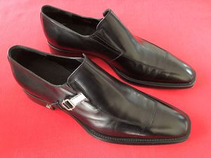 Cesare Paciotti Italian Loafer Slip on Dress Shoes Men Size 10 for Sale in Los Angeles, CA