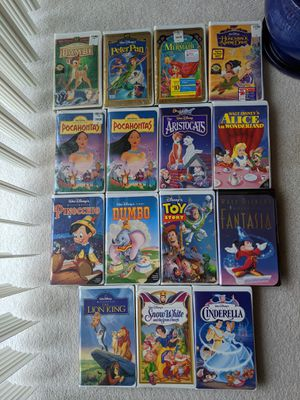 Walt Disney's VHS tapes - Lot of 15 for Sale in Orlando, FL