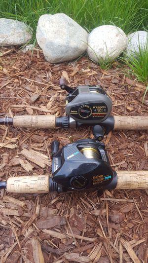 Fenwick & G•Loomis Fishing Rods + 2 Daiwa Reels for Sale in Lake Stevens, WA