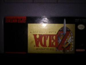 Zelda super Nintendo game for Sale in Mitchell, IL