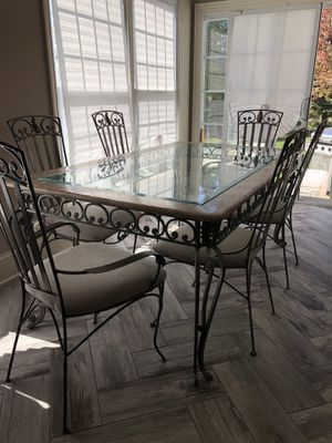 Tuscan glass kitchen table set for Sale in Addison, IL