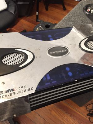 1600 watts 4 Chanel NiTRO for Sale in Boston, MA