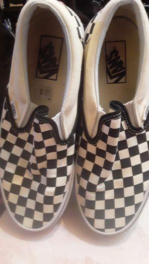 Slip-On Vans - Womens Size 8.5 for Sale in Torrance, CA