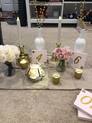 Wedding decor for Sale in Fairfax, VA