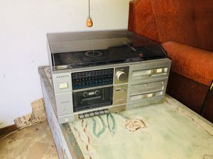 Sanyo stereo/phonograph amp and receiver for Sale in Campbell, CA