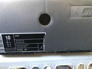 Nike Air Jordan's AF -1 Two-3 blk/wht for Sale in Wichita, KS