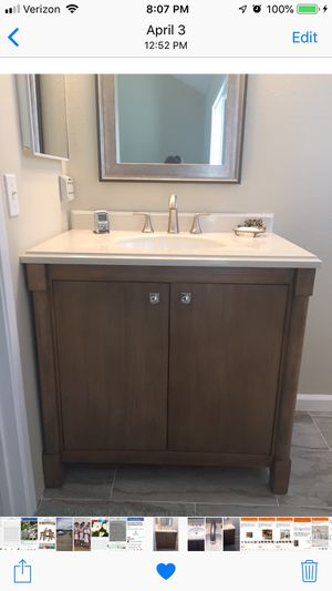 "Beautiful 36"" bathroom vanity - 2 months old for Sale in Lompoc, CA"