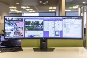 Dell 49 inch curved ultra hd monitor for Sale in Arlington, VA
