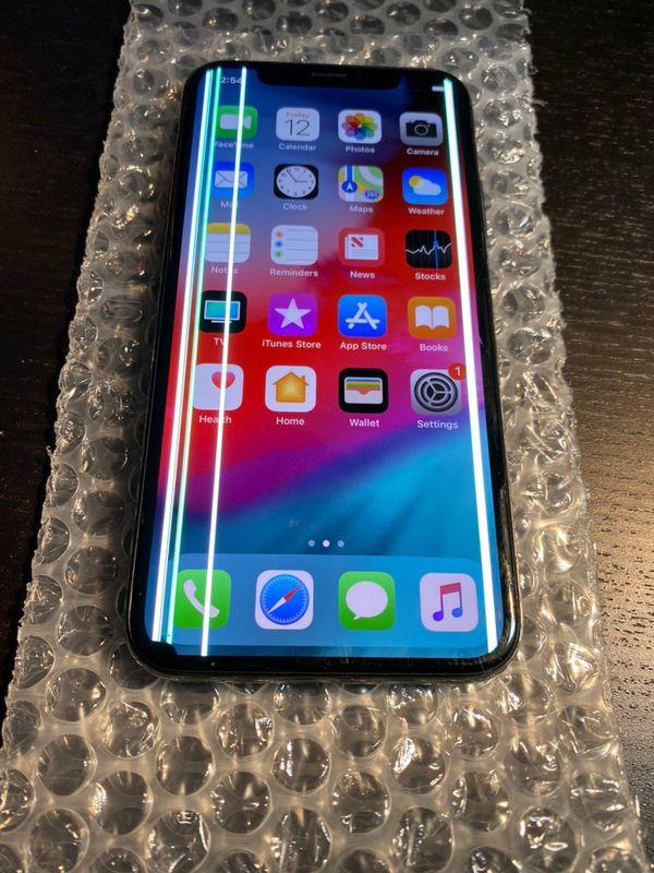 iPhone X Space Gray 256 GB Unlocked