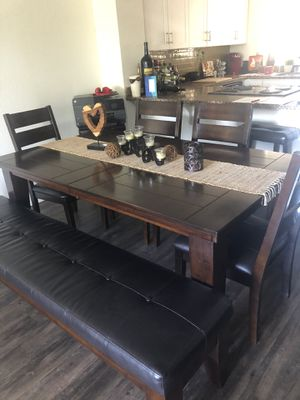 Kitchen Table and matching cabinet for Sale in Carlsbad, CA