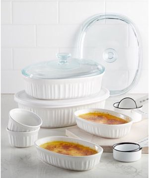 Corningware French White 10 piece Bakeware Set for Sale in Miami, FL