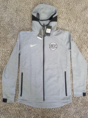 Nike New York Knicks DriFit Full Zip Gray Tech Fleece Hoodie Small S for Sale in North Las Vegas, NV