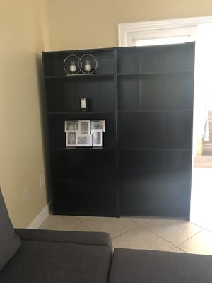 2 matching bookshelves for Sale in Miramar, FL