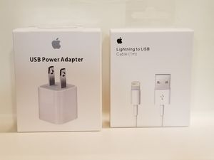 Apple USB Adapter and USB Cable set for Sale in Canyon Country, CA