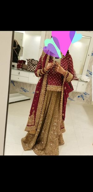 Pakistani wedding dress for Sale in Irving, TX