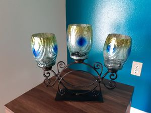 Beautiful Candle holder /POINCIANA $15 for Sale in Kissimmee, FL