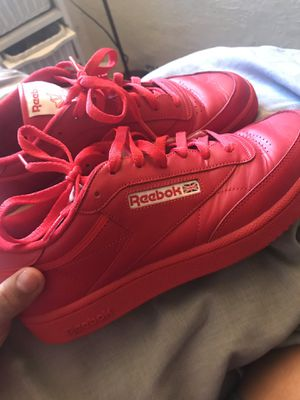 All red Reebok shoes for Sale in San Diego, CA