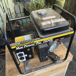 Mccolloch Genarater for Sale in Tacoma, WA