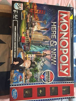 Unopened Monopoly Here and Now Edition for Sale in Denver, CO
