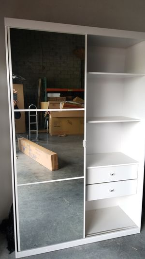 Bedroom Closet with Mirror and Drawers Factory Outlet for Sale in Hialeah, FL