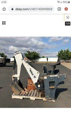 Bobcat Backhoe attachment for Sale in San Diego, CA