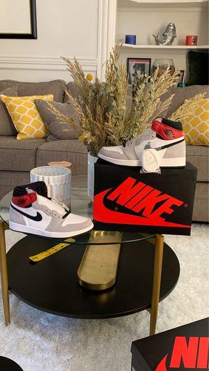 "Air Jordan 1 retro high OG ""Smoke Grey"" for Sale in Boston, MA"