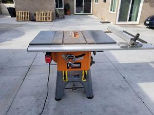 Ridgid Table Saw for Sale in Pico Rivera, CA