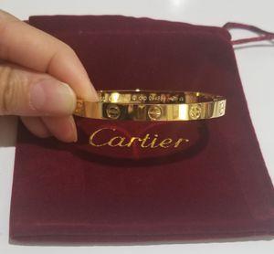 Love bracelet bangle gold for Sale in Austin, TX