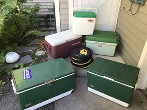 Coolers. Price in description for Sale in Rochester, NY