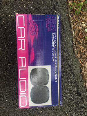 Car Audio Optimus Speaker System for Sale in Gaithersburg, MD