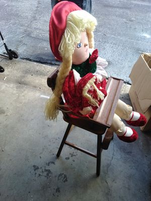 Antique high chair been refurbished for Sale in Tampa, FL