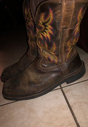 Justin Steel Toe Boots for Sale in Houston, TX