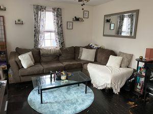 Brown Sectional For Sale for Sale in Hartsdale, NY