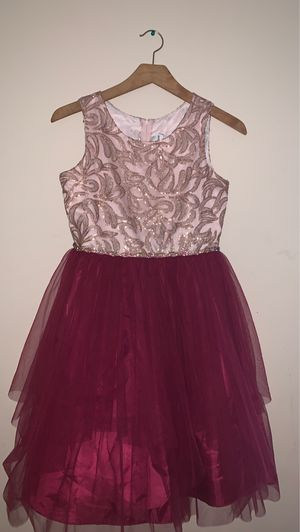 Rare edition pink and purple dress for Sale in Alexandria, VA