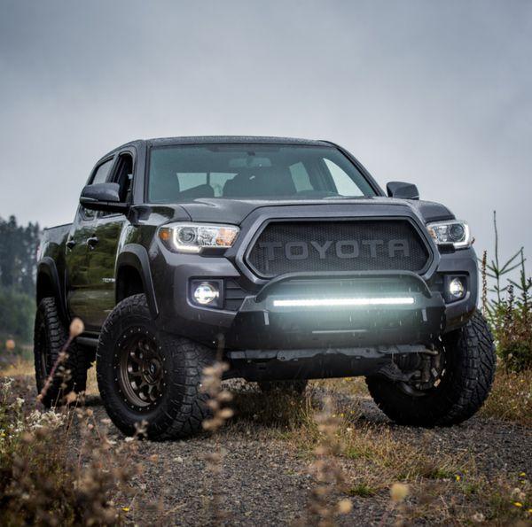 C4 low profile Toyota Tacoma winch bumper