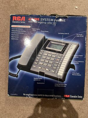 4 line phone system — In a box for Sale in Queens, NY