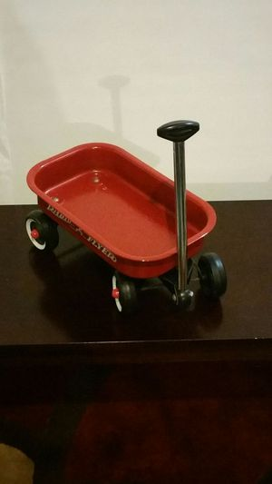 Radio Flyer Collectible Red Toy Medal Wagon 12 x 8 for Sale in Lawrenceville, GA