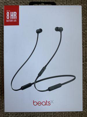 Beats by Dr. Dre - BeatsX Wireless Earphones- Black for Sale in East Newark, NJ