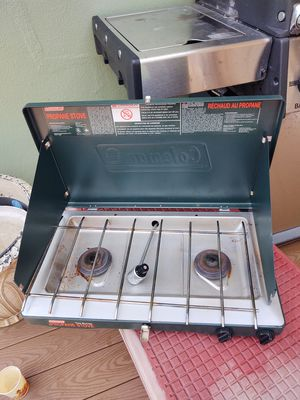 Coleman propane two burner camp stove for Sale in Clearwater, FL