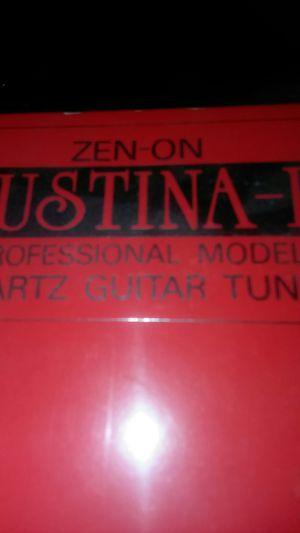Justina 2 quartz guitar tuner for Sale in Virginia Beach, VA