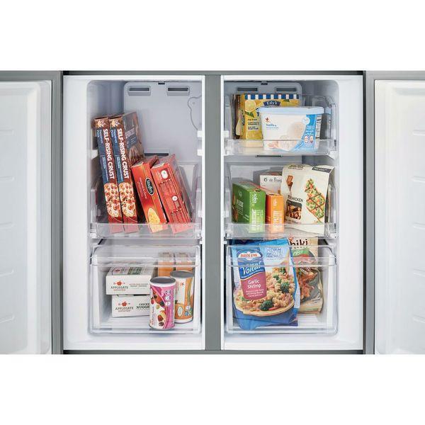 Frigidaire refrigerator 4 door french door stainless steel new