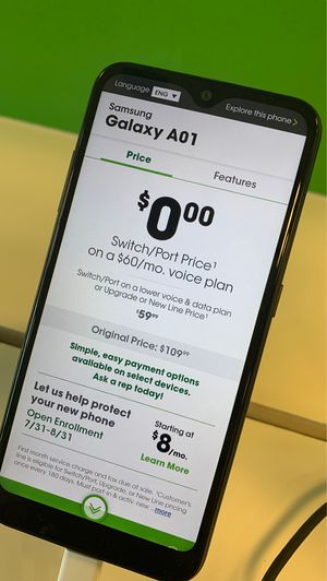 Samsung Galaxy A01 for Sale in Alafaya, FL