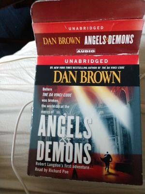 Angel's demons Dan brown unabridged 15 CD AUDIO for Sale in Plano, TX