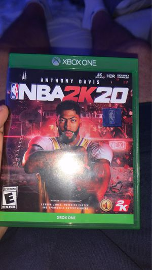 Nba 2k20 Xbox One for Sale in San Diego, CA
