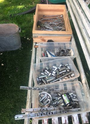 Assorted sockets and wrenches for Sale in Woodbridge Township, NJ