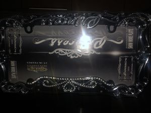 Princess License plate covers X2 for Sale in San Leandro, CA