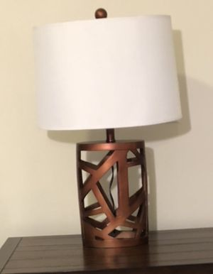 Bronze lamp - STILL AVAILABLE for Sale in Austin, TX