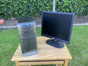 HP Computer, monitor ,Keyboard , mouse and cords for Sale in Fresno, CA