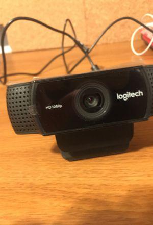C922 Logitech 1080p HD webcam for Sale in Aspen Hill, MD